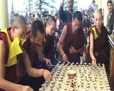 Tibetan PM in exile condemns immolation