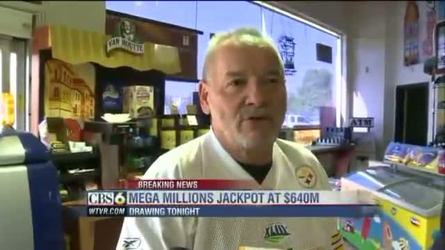 Mega Million jackpot is now $640 million dollars