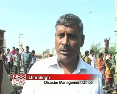 Fire traps slums in Gurgaon