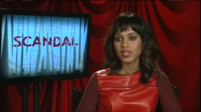 Kerry Washington's 'Scandal'ous New Role video