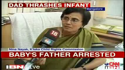Bangalore: 3-month-old battered, father arrested