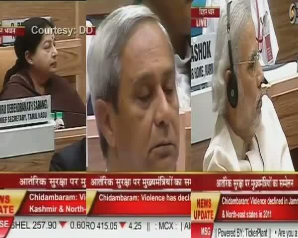Modi, Patnaik meet Jayalalithaa, snub PM on internal security