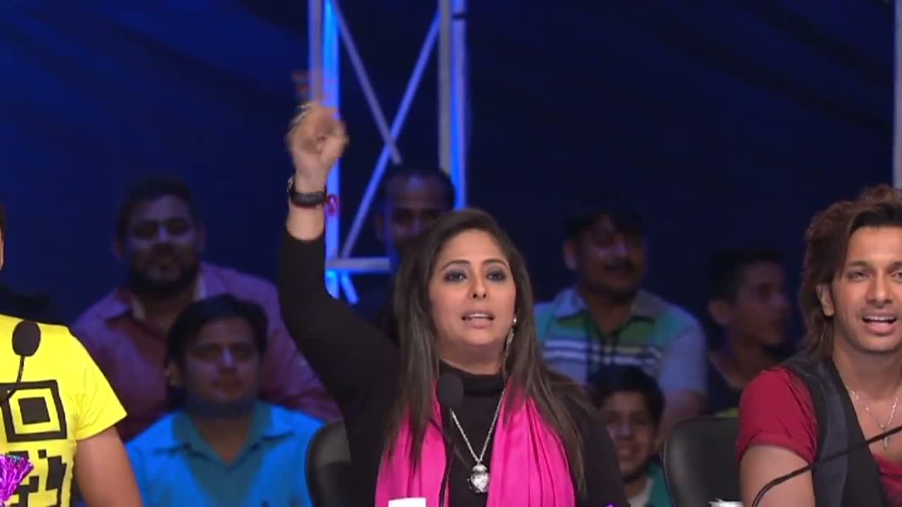 Dance India Dance 15 April 2012 Little Masters Auditions - Akshata Mudgal