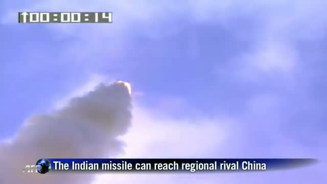 India tests new long-range missile