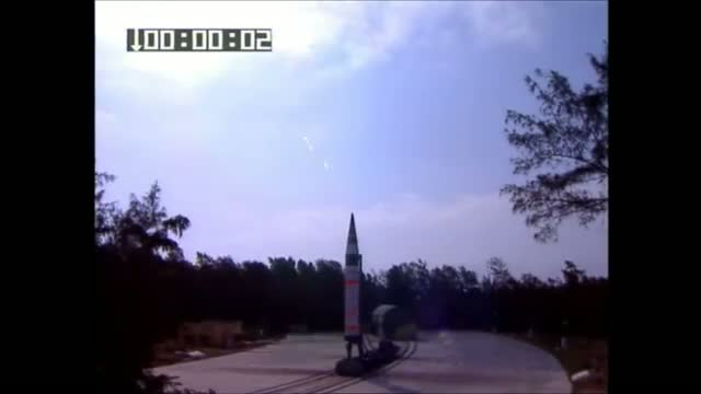 India successfully test fires Agni 5 ICBM 5000KM missile