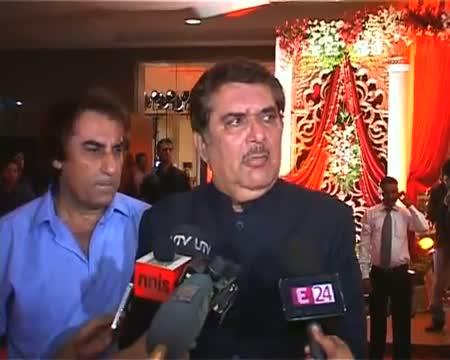 Celebs galore at Bappa Lahiri's grand reception