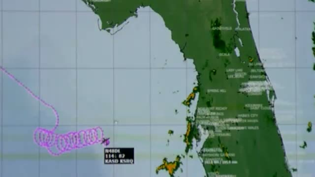 Pilot of small plane circling Gulf may be unconscious; Cessna 421 crashes in the gulf 4/19/2012