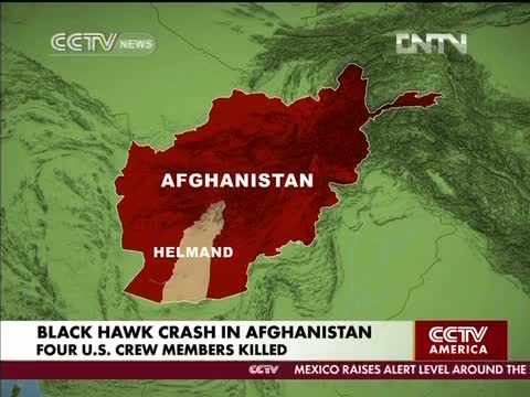 Taliban Shot Down NATO Helicopter Killing 4 Americans in Helmand Afghanistan