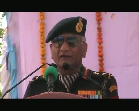 V K Singh unveils former PM Chandra Shekhar's statue in UP