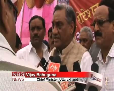 Vijay Bahuguna flags off char dham yatra