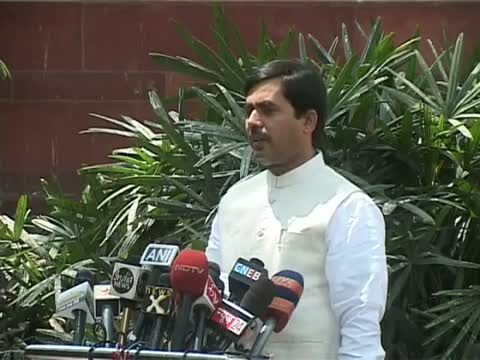 BJP takes dig at Cong over LS disruptions