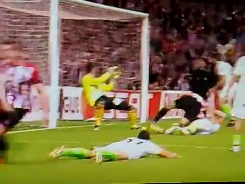 Gol Fernando Llorente Atheltic Bilbao vs Sporting de Lisboa 3-1 Europa League [Apr.26 2012]