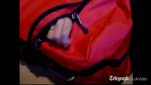 Court footage - Reconstructions of bag death scenario shown at MI6 spy's inquest