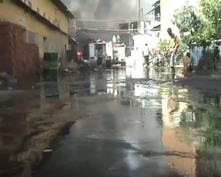 Fire breaks out in Nagpur slum during anti encroachment drive