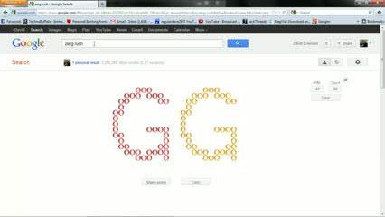 Google Easter Egg Secrets: Zerg Rush, Starfox, Snake