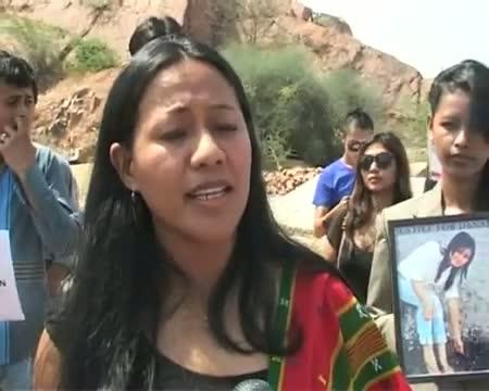 Dana Sangma case Students protest against Amity