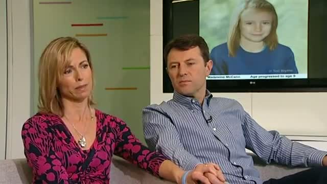 Kate and Gerry McCann - 'Madeleine could still be alive'