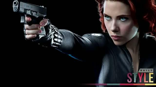 Scarlett Johansson's Catsuit - Avenger's Movie, Black Widow!