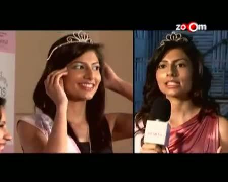 Vanya Mishra wins Femina Miss Glowing Skin tittle