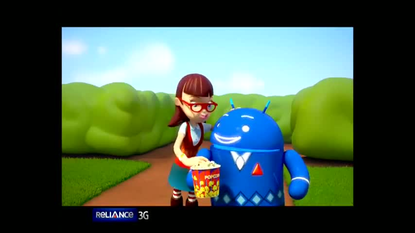 Reliance Android - Blue Bot Movie Navigation