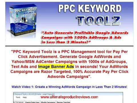 Payperclick Bid Management Software - Pay Per Clicks Keyword Adwords Tool