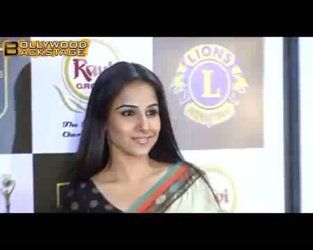 DIRTY Vidya Balan promotes cleanliness