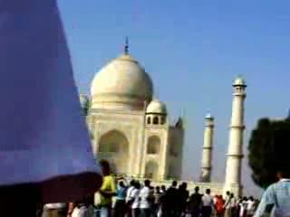 Taj Mahal Garden Agra India