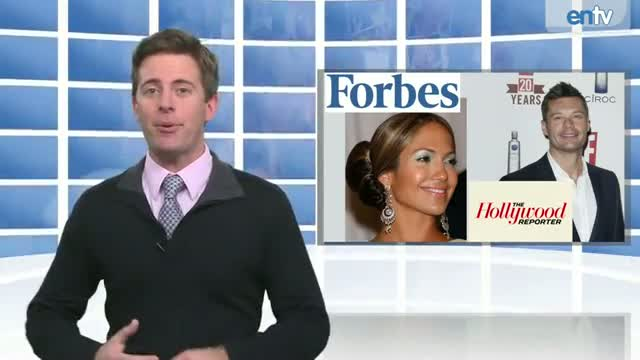 Jennifer Lopez Tops Forbes Powerful Celebrity List, Ryan Seacrest Named Most Powerful Player in Reality TV