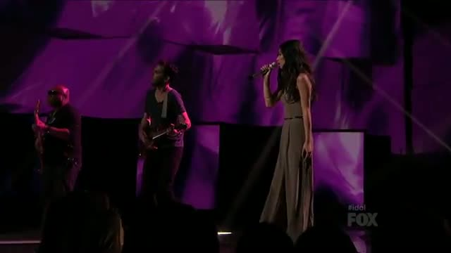 Jessica Sanchez - I Don't Want To Miss A Thing - Top 3 - AMERICAN IDOL SEASON 11