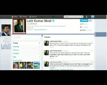 SRK owned the stadium for the day Lalit Modi