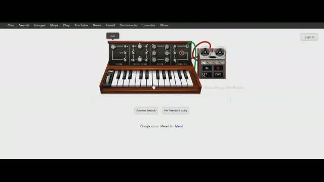 watch robert moog google doodle  video id