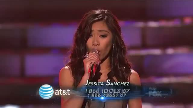 Jessica Sanchez - I Have Nothing - Top 2 - AMERICAN IDOL SEASON 11