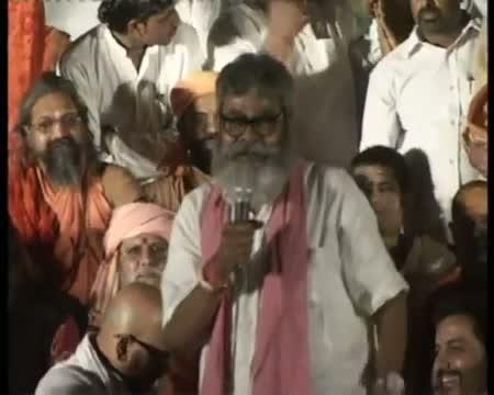 PM is deaf, dumb, blind Varanasi seer