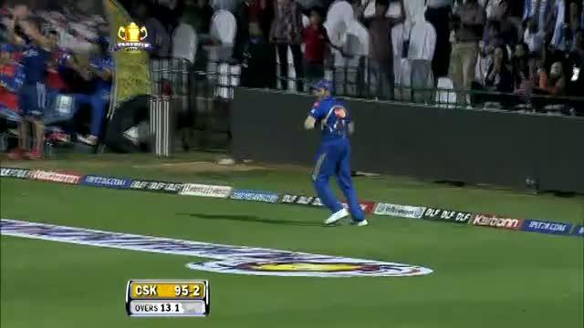 1st Inning Wickets IPL 2012 - MI vs CSK, Eliminator