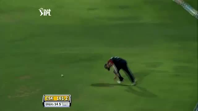 MS Dhoni dropped by David Warner - Dropped Catch, IPL 2012 - CSK vs DD, Qualifier 2