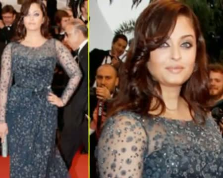 Check Out Aish in new look at cannes2012