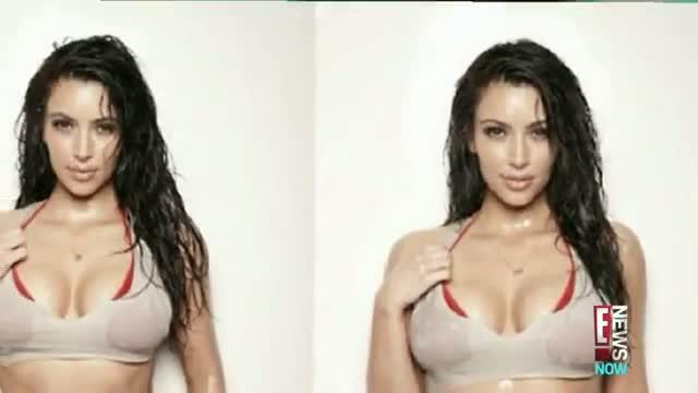 Kim Kardashian Gets Wet and Wild