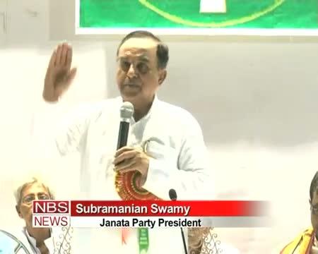 Rahul is dumb and drug addict Subramanian Swamy