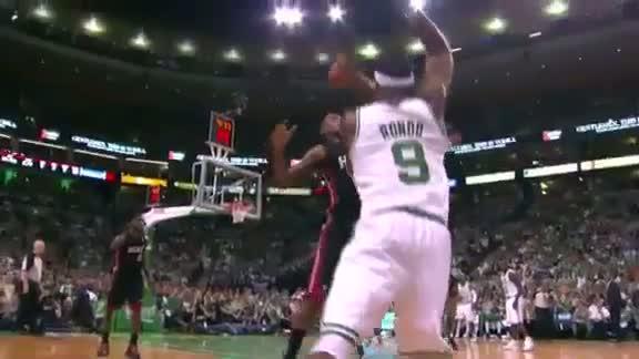 Rajon Rondo Calls the Miami Heat Crybabies - 6/3/12 - ECF Game 4 (ABC/ESPN-TV)