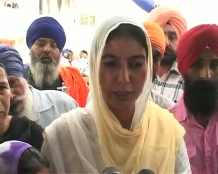 Akal Takht felicitates Beant Singh killer