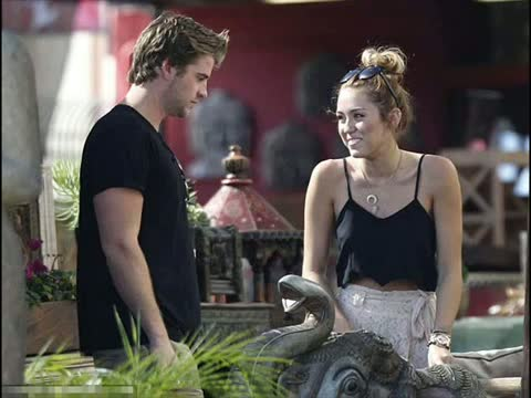 Wow! Miley Cyrus, 19, engaged to Hunger Games actor Liam Hemsworth, 22