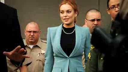 Lindsay Lohan Car Accident - No Serious Injuries; Investigation Underway