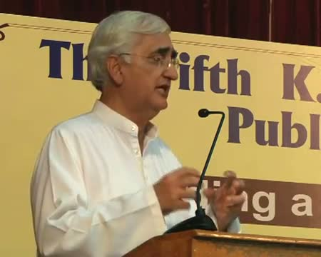 Don't force, inspire to fight against corruption Khurshid