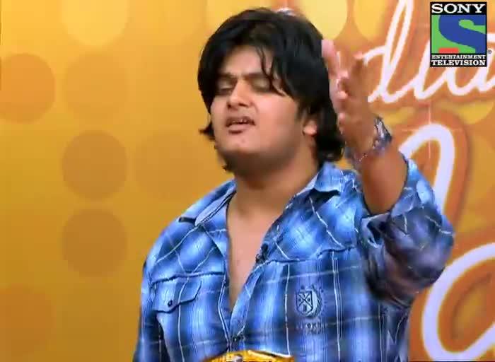 INDIAN IDOL SEASON 6 - EPISODE 5 - BEST PERFORMANCES - VISHAL MISHRA SINGING 'TERE BINA' AT LUCKNOW AUDITION