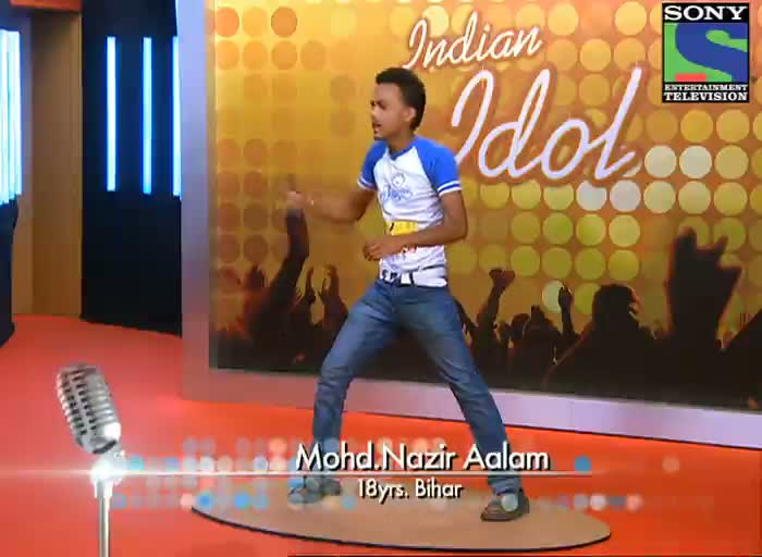 INDIAN IDOL SEASON 6 - EPISODE 5 - FUNNY MOMENTS - MOHD NAZIR ALAM AT LUCKNOW AUDITION
