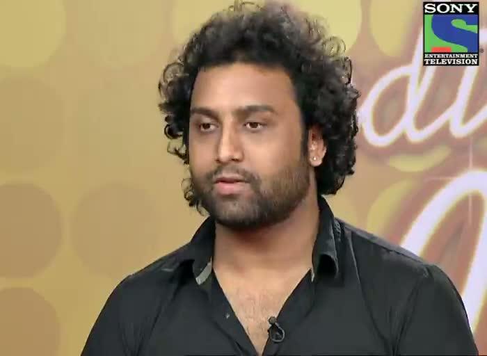 INDIAN IDOL SEASON 6 - EPISODE 6 - BEST PERFORMANCES - AMITABH NARAYAN SINGING 'ABHI MUJH MEIN KAHI' AT MUMBAI AUDITION - 16TH JUNE 2012