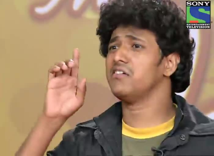 INDIAN IDOL SEASON 6 - EPISODE 6 - FUNNY MOMENTS - FUNNY MOMENTS AT MUMBAI AUDITION - 16TH JUNE 2012