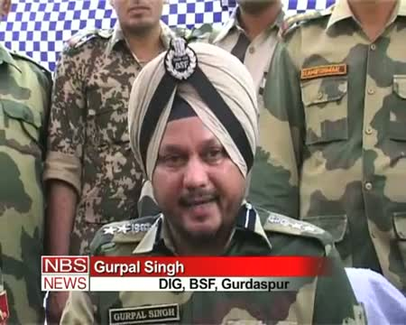 BSF seizes heroine worth 85 cr in Punjab