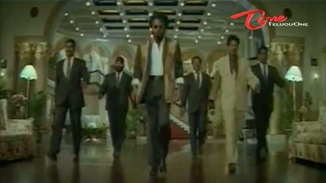 Basha Songs - Basha Choodu - Rajinikanth - Nagma - Telugu Movie Cinema