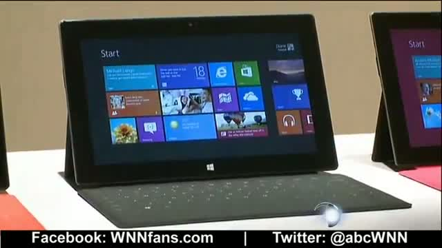 Microsoft Surface Tablet - First Look